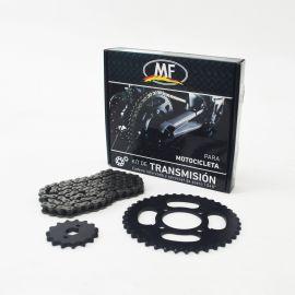 Kit Tracc Ref Honda NXR125 BROS 17D-54D - 428X132 MF