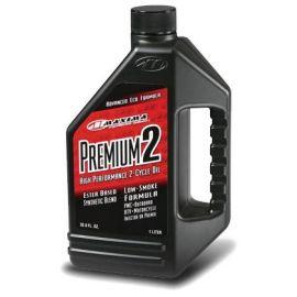 Premium 2 Semi-Sintético sin humo 33.8oz 1Lt. Maxima