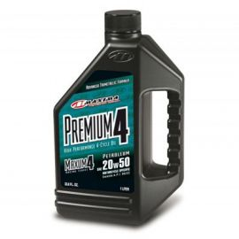 Maxum Premium 20W50 128 oz Maxima