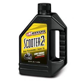 Scooter 2T Premium Injector-Premezclado 33.8oz 1Lt. Maxima