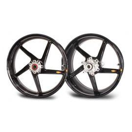 Rin Trasero 6.0x17 CRW Black Diamond5 Swept Spokes  BST