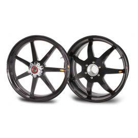Rin Delantero 3.5x17 FW Black Mamba 7 Straight Spokes BST