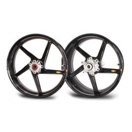 Rin Trasero 6.0x17 CRW Black Diamond 5 Swept Spokes  BST