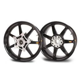 Rin Delantero 3.5x17 FW Black Panther 7 Straight Spokes BST