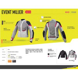 Chamarra Event para mujer