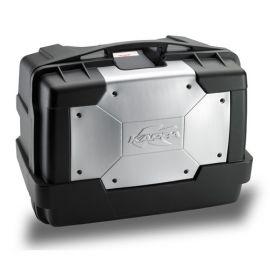 Maletero Trasero Monokey Garda 46lts Negro-Aluminio KGR46 Kappa