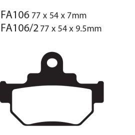 Frenos de Disco FA106R EBC
