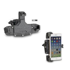 Soporte Universal porta smartphone grande min 144x67mm – max 178x90mm Givi