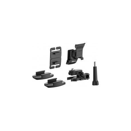 Kit de Fijacion Intercomunicador c/microfono y Audiculares (10C EVO) Sena