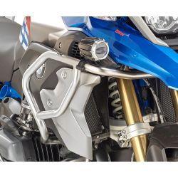 Defensa Tubular Alta color acero BMW R1200GS 17-18 R1250GS 19-21 Givi