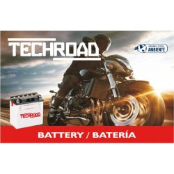 Batería YB5L-B c/Electrolito caja(6) Tech Road