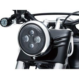 "Faro LED ORBIT 7"" No HALO 94-20 Street Glides, Road Kings, & Trikes H-D 2476 Kuryakyn"