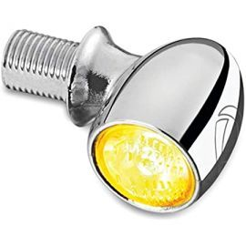 Direccional del/tras LED KELLERMANN ATTO (LUZ ambar) cromo Multi-Fit 2521 Kuryakyn