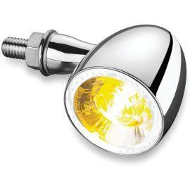 Direccional del LED KELLERMANN BULLET 1000 cromo (luz ambar / bco) Multi-Fit 2552 Kury
